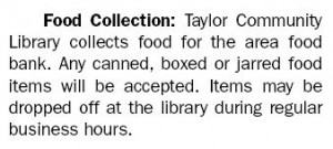 library food collection